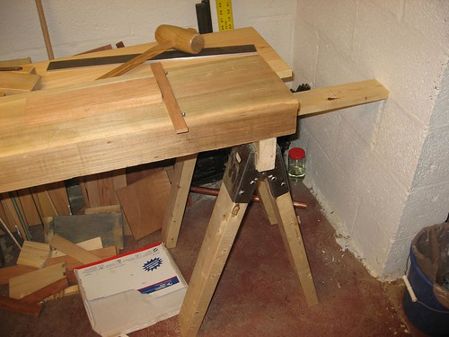 Who Needs A 400 Lb Workbench When You Have A Scrap Piece Of 1x4