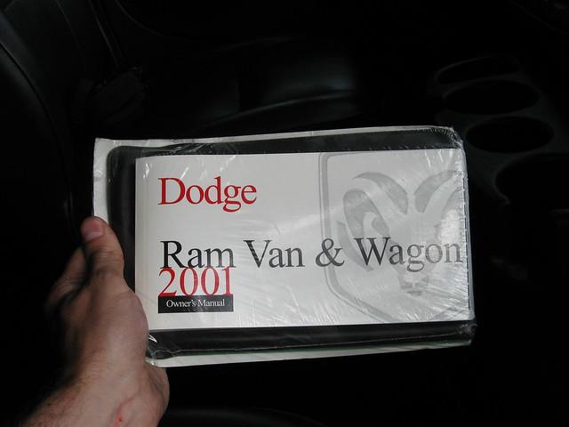 2001 dodge van ram