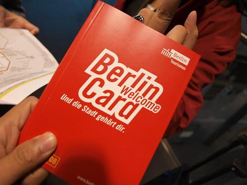 Berlin Welcome Card por Hiroshi Hung.