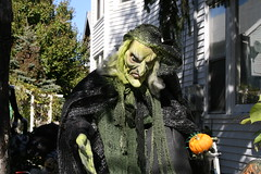 My friendly neighbor (1987porsche944) Tags: halloween newjersey witch decoration nj monmouthcounty jerseyshore oceangrove