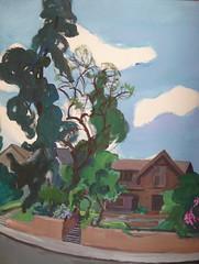 945 Edgeware Road by Leo Politi by Floyd B. Bariscale