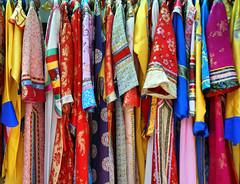 Chinese Traditional clothing (susanhardman) Tags: china travel colors clothing asia chinese textiles shenyang qipao sonyalpha chineseclothing