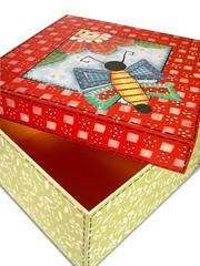caixa-Borboleta (Minhas Crias) Tags: artesanato decoupage estencil trabalhosmanuais caixamdf