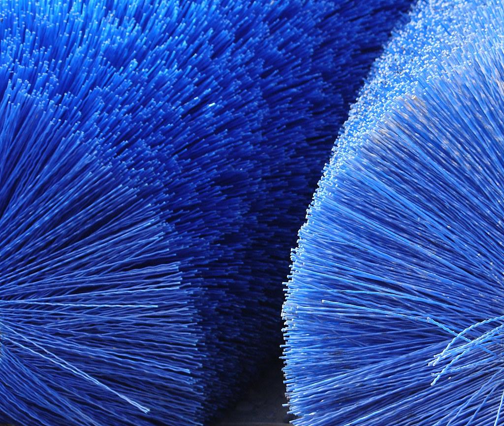 Big Blue Brushes