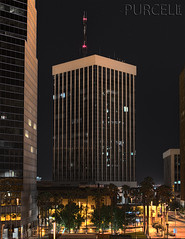 Bank of America Plaza (Jim Purcell) Tags: longexposure arizona usa building architecture night digital mediumformat downtown pentax tucson citylife az multipleexposure equipment international photograph highrise nightlife lightmeter hdr highdynamicrange topaz lightroom commercialbuilding photomatix photomechanic tonemapping pimacounty pentaxspotmeter tucsonphotographer pentax645d smcpentaxa45mm28