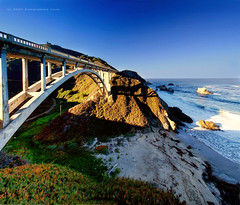 Rocky Creek Bridge (Christopher Chan) Tags: california bridge panorama usa canon monterey suspension highway1 northamerica montereycounty slideshow 1022mm pacificcoast 30d rockycreekbridge aplusphoto superbmasterpiece