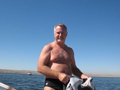 20071004 Lake Perris Waterski Trip (101) (MadeIn1953) Tags: california me speedo swimsuit wetsuit waterski 2007 lakeperris skiboat 200710 20071004