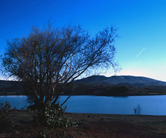 Nicasio (CA) Reservoir - 9-28-2007 (Sharper24) Tags: california lake tree water night searchthebest marin envy