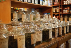 Tea jars, McNulty's by domesticat, on Flickr