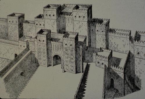 Ishtar Gate, Ancient World. Babylon.