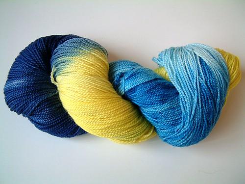 Sock Pixie- Iris Garden