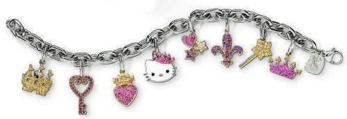 Hello Kitty by Kimora Lee Simmons Charm Bracelet