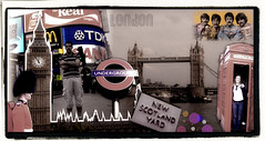 London City (aunqtunolosepas) Tags: city uk inglaterra travel viaje bridge red england cute london art rio towerbridge river underground puente travels funny europa europe bea arte unitedkingdom cut mosaic telephone creative cities police bigben piccadilly ciudad mosaico pop piccadillycircus ciudades cabina viajes londres kiko beatles paco policia policeman roja reinounido divertido tamesis scotlandyard creacion thamesis pakito cortar colash aunqtunolosepas
