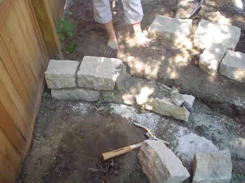 beginning mortaring