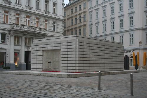 האנדרטה בכיכר היהודים בווינה, אוסטריה