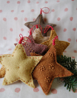 Molly's Star Ornaments