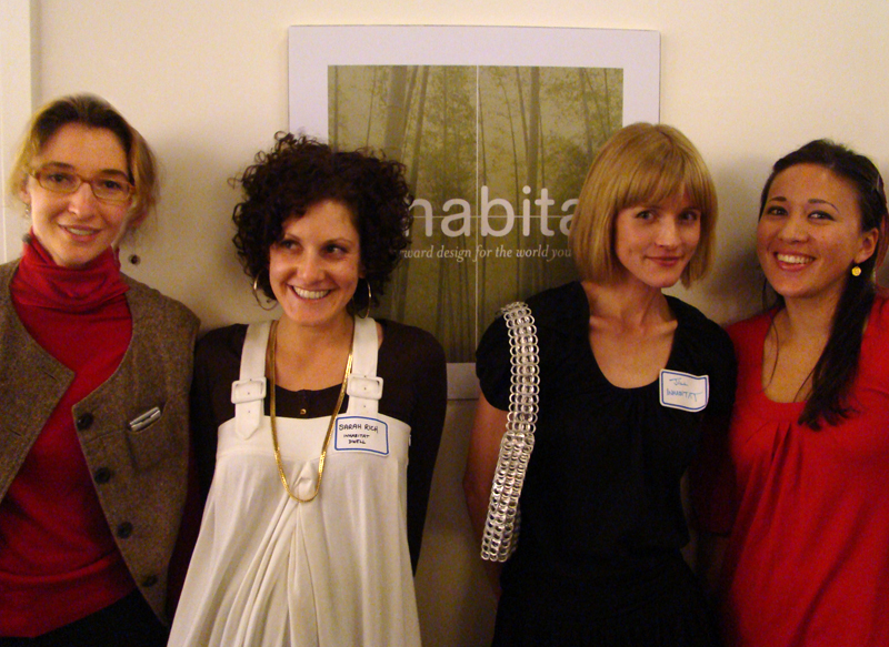 Inhabitat Ladies 2007, Jill Fehrenbacher, Emily Pilloton, Sarah Rich, Piper Kujac, Team Inhabitat, Girls of Inhabitat