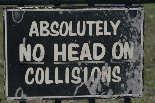 Absolutely no head on collisions