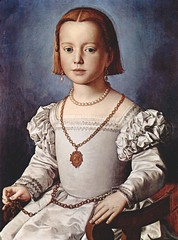 Bia de' Medici, illegitimate first daughter of Cosimo I de Medici (rosewithoutathorn84) Tags: portrait cute art painting de pretty daughter cosimo medici illegitimate mannerism bronzino biademedici