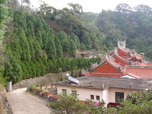 Backyard of the Temple near Fei Feng Mountain
