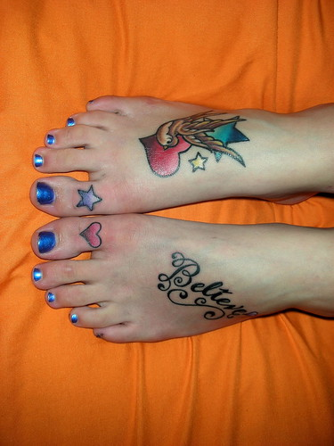 Trends Foot Tattoos Picture For Women