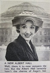 New hat? (Lady Wulfrun) Tags: london hat magazine hall milner albert 1956 everybodys