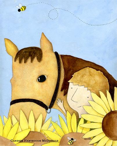 Horse-In-Flowers-web