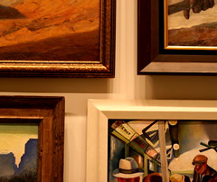 Frame Pattern (johnny greengrass) Tags: art frames paintings dcist nationalportraitgallery americanartmuseum