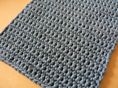 Beginner Crochet Dishcloth