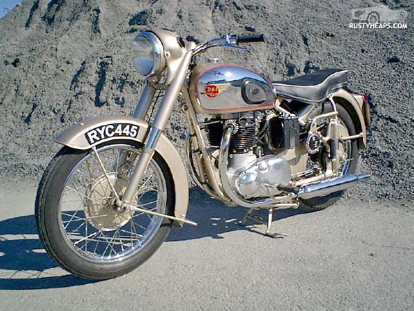 1954 BSA Golden Flash