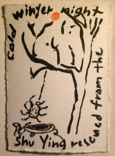 Angela Fremont artist trading card
