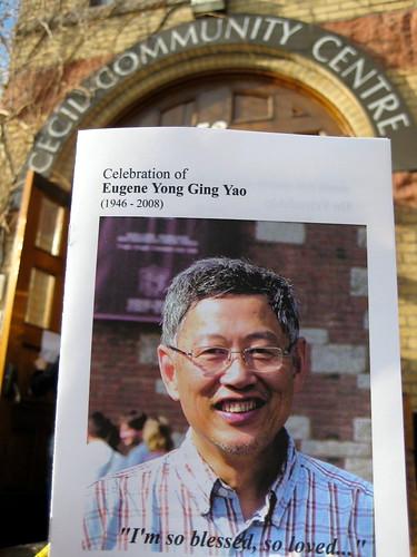 Eugene Yong Ging YAO - 1946-2008