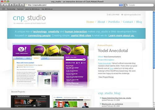 cnp_studio Web site