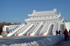 Snow Temple (Yi.Lin) Tags: china snow temple harbin blueribbonwinner artisticexpression supershot mywinners abigfave anawesomeshot superbmasterpiece diamondclassphotographer flickrdiamond