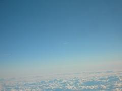 Flighter Jet  fly by Lufthansa LH710 (south side)