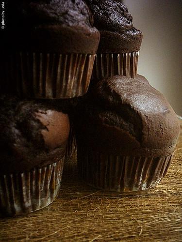 """Muffin """"delirio al cioccolato"""""""