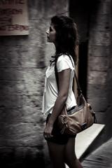 Simona in Perugia (manlio_k) Tags: love girl beauty face simona perugia umbria manlio bellezza ragazza castagna volto manliocastagna manliok