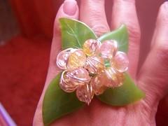 ANILLO HOJAS (Golifre) Tags: bolas cristal bohemia craqueladas