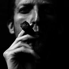 (Mik Thorvaldsen) Tags: light portrait blackandwhite bw contrast shadows cigar bn ombre burn dodge ritratto luce biancoenero contrasto sigaro bruciatura mikel1983 micheletorsello schermatura