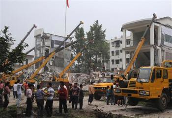 Earthquake in China - http://earthisours.blogspot.com
