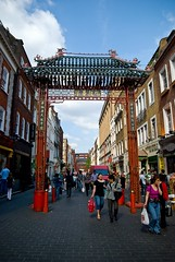 Entrance to Chinatown, London