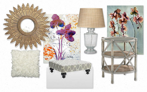 Neutral inspiration mood board