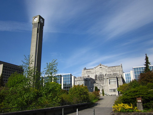 UBC Clock Tower & Main Library