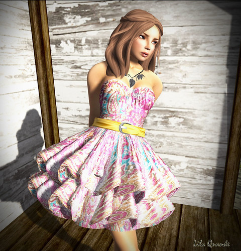 Culture Shock - ~*INDIE ROSE*~ - Paisley Scarf Dress - Paisley 1