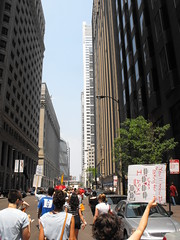 And we're marching... (softjunebreeze) Tags: chicago downtown michiganave womensrights equalrights daleyplaza antirape sexpositive womensempowerment slutwalk