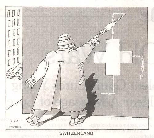 Suisse dessin le Monde