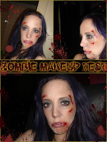 Zombie Makeup Test
