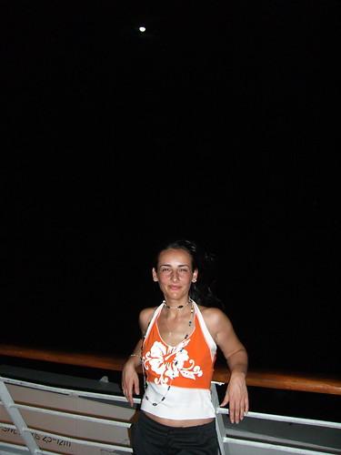 Marga under the moonlight