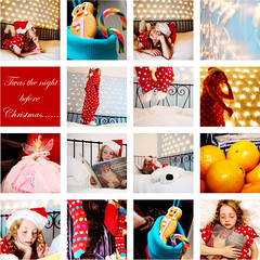 Twas the night before Christmas (alexkj) Tags: christmas xmas light red stockings hat night book child before story spots fairy fatherchristmas 5d bedtime candycane fairylights twas rcpbgroup