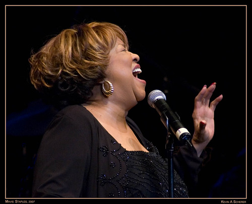 Mavis Staples @ Morristown Community Theater